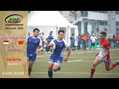 Game 1 Indonesia Vs China - Asia Rugby Championship Div 3ES  [FULL MATCH]