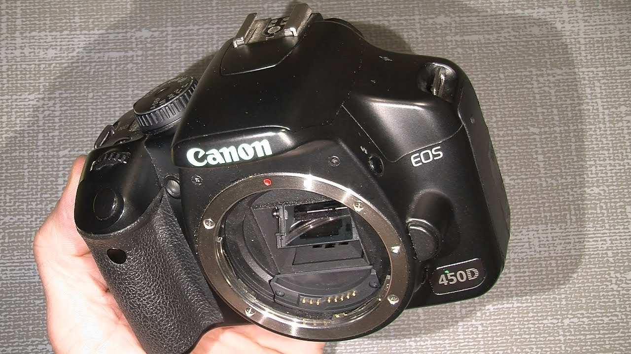 1A77 Canon EOS 450D Rebel XSI Display Reparartur / Repair Guides .