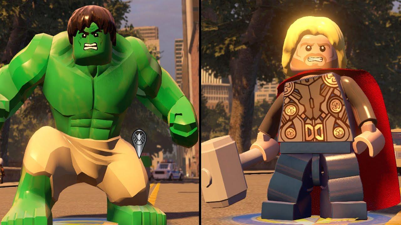 lego avengers hulk vs thor - photo #4