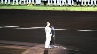 2012.10.09 阪神甲子園球場 最終戦 阪神タイガース vs 横浜DeNAベイスタ...