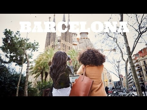 TRAVEL VLOG | BARCELONA WITH OLAY