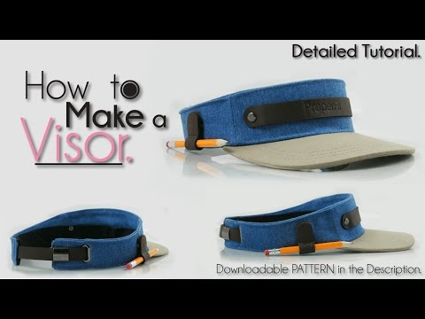 OFFICIAL | How To Make a Visor Hat NEW!