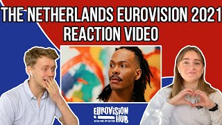 The Netherlands | Eurovision 2021 Reaction | Jeangu Macrooy - Birth Of A New Age | Eurovision Hub