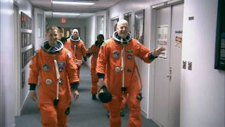 STS-131 Suitup and Walkout