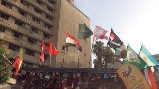 كله هيشجع مصر.. أكشاك الأعلام: العلم من 3 لـ 65 جنيه والإقبال كثيف