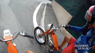 J'ai testé la Motobecane bi-cylindre