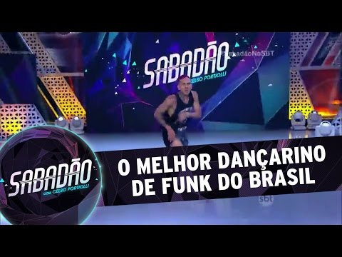 Sabadão Com Celso Portiolli (16/04/16) - O Melhor Dançarino De Funk Do Brasil