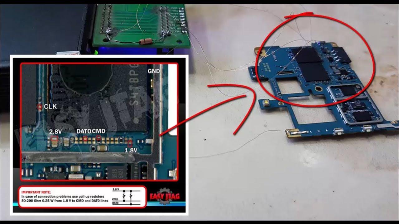 Samsung G532G Repair boot By Easy Jtag