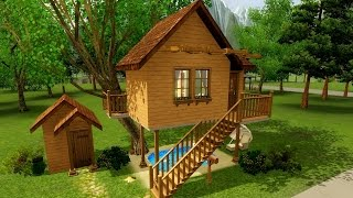 The Sims 3 Домик на дереве(, 2015-04-04T16:21:12.000Z)