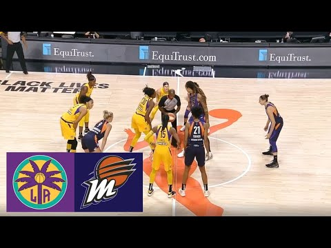Download WNBA Los Angeles Sparks vs Phoenix Mercury Basketball Game Highlights August 19 2020