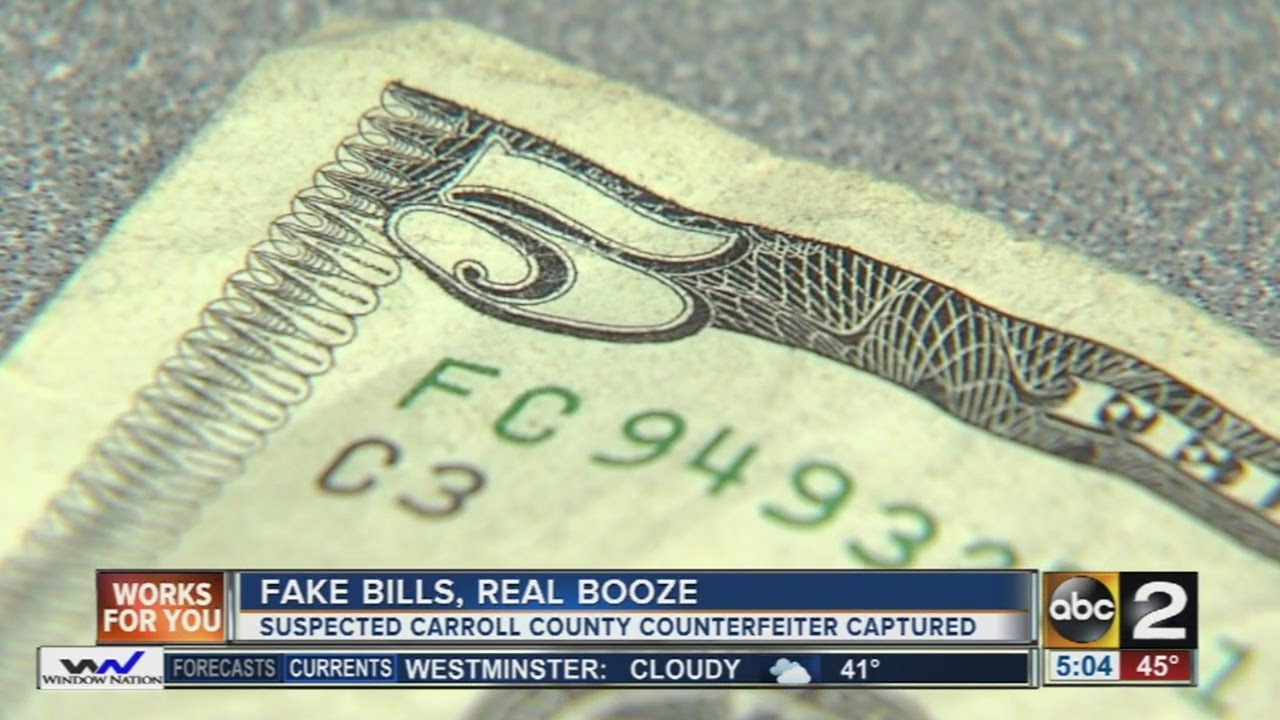 Man arrested for passing counterfeit $5 bills at liquor store