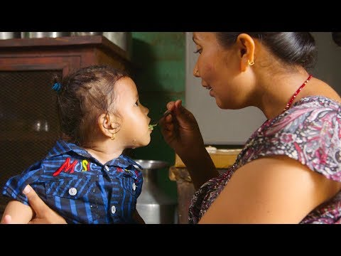 How to Feed Your Young Child with Care (Nepali) - Nutrition Series