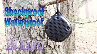 Amazonbasics Speaker Shockproof, Waterproof under 20€ ENG. SUBS