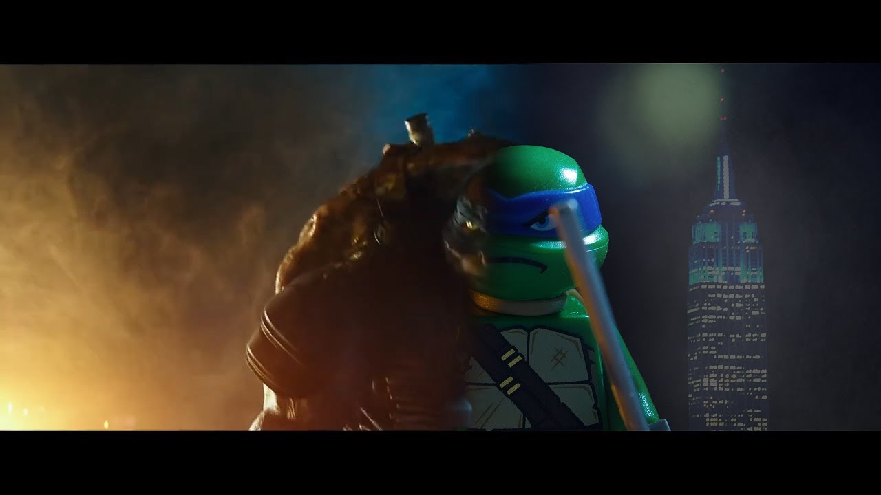 tmnt 2014 movie trailer lego youtube