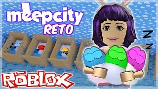 ROBLOX - challenge of babies - Meep City