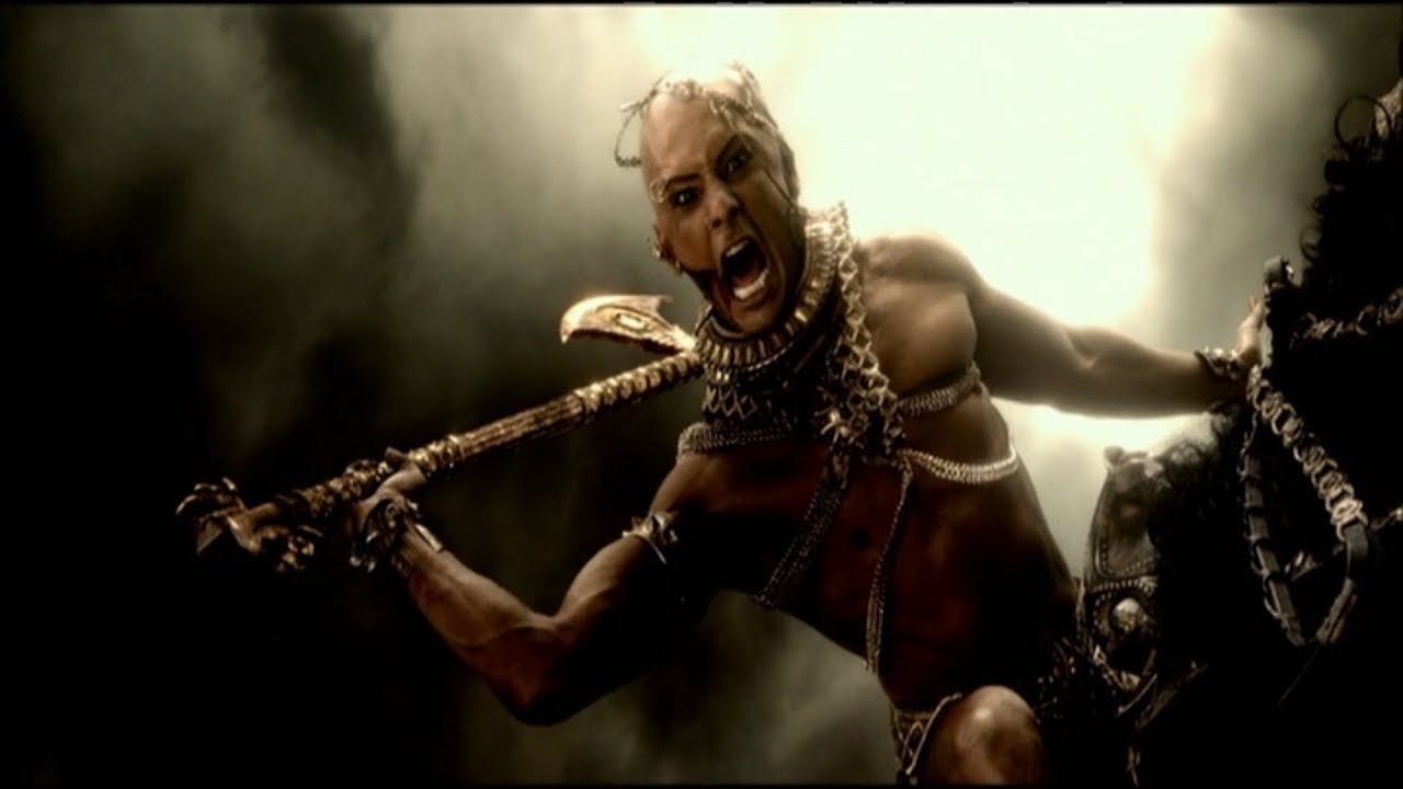Download 300: Rise Of An Empire - Xerxes Beheads Leonidas