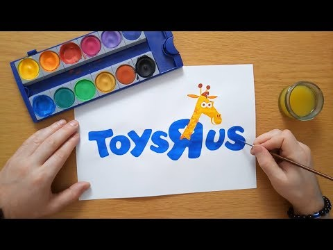 How To Draw A Toys R Us Logo (with Geoffrey)