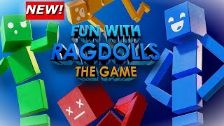 NEW* Fun With RagDolls: The Game! Mini Games (Gameplay/Review)