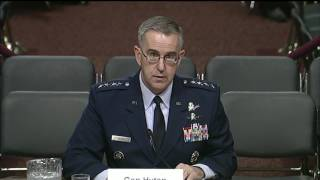 Stratcom Commander Opening Statement on Capitol Hill