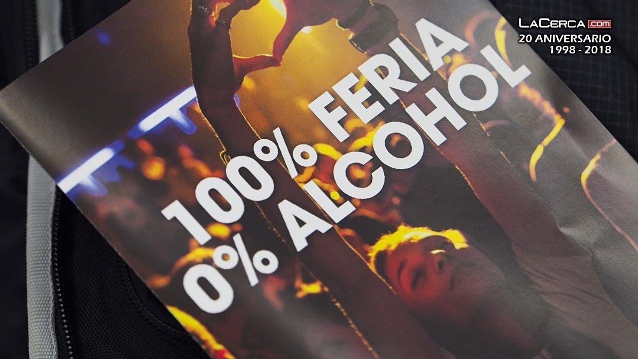 Image result for 100% feria 0% alcohol