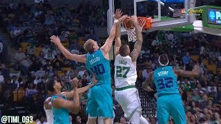 Daniel Theis CELTICS DEBUT Highlights vs Charlotte Hornets (12 pts, 7 reb, 3 ast)
