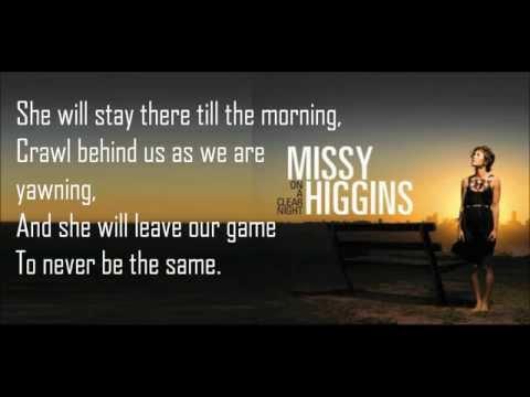 Missy Higgins - Sugarcane Lyrics