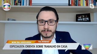 Entrevista Jornal Bom Dia Vanguarda | TV Globo Lincoln Firoozmand
