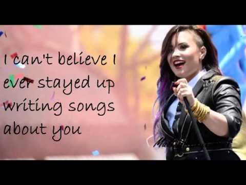 Really don't care DemiLovato lyrics