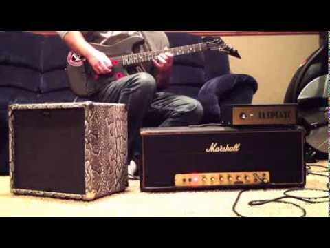 Old School 80's Jam Using Paul Gilbert's Lee Jackson Marshall