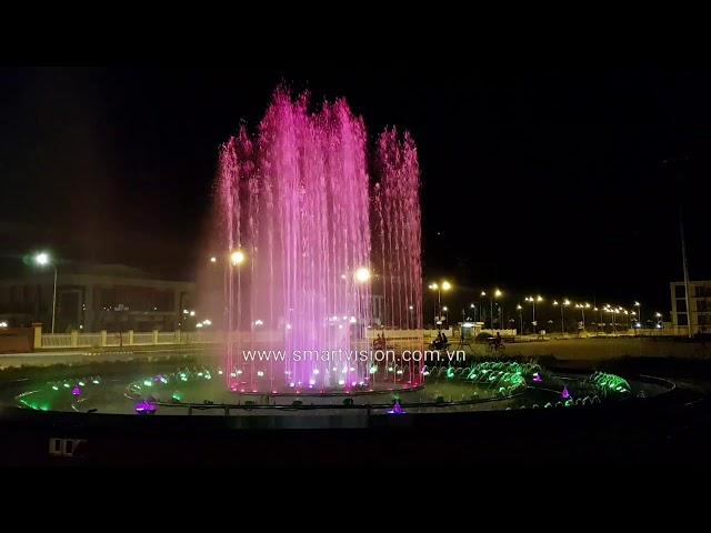 Happy New Year 2020 Nhạc nước trung tâm hành chính Cai Lậy - Tiền Giang