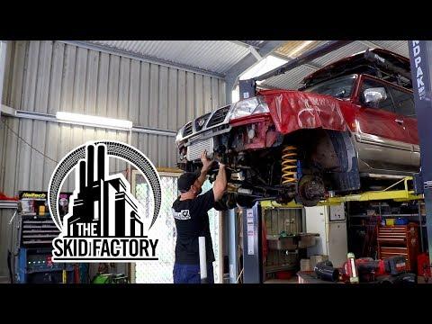 THE SKID FACTORY - Nissan Patrol TD42 Turbo Diesel Swap [EP3]
