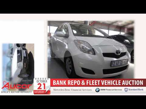 Bank Repo & Fleet Vehicle Auction, 21 Oct