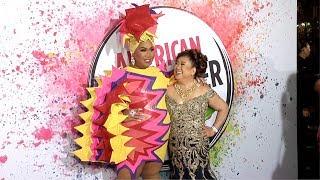 PatrickStarrr 2019 American Influencer Awards Pink Carpet Fashion