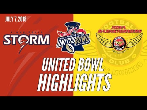 2018 United Bowl Highlights: Sioux Falls at Iowa