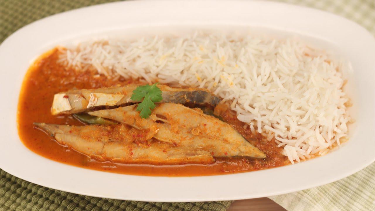 Goan Fish Curry Sanjeev Kapoor Khazana Youtube