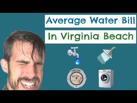 Average Water Bill In Virginia Beach, Virginia - Boring Topics Can Be Entertaining, Too!