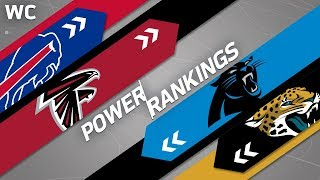 NFL Power Rankings: Wild Card Weekend! | Who's Rising & Who's Falling? | NFL