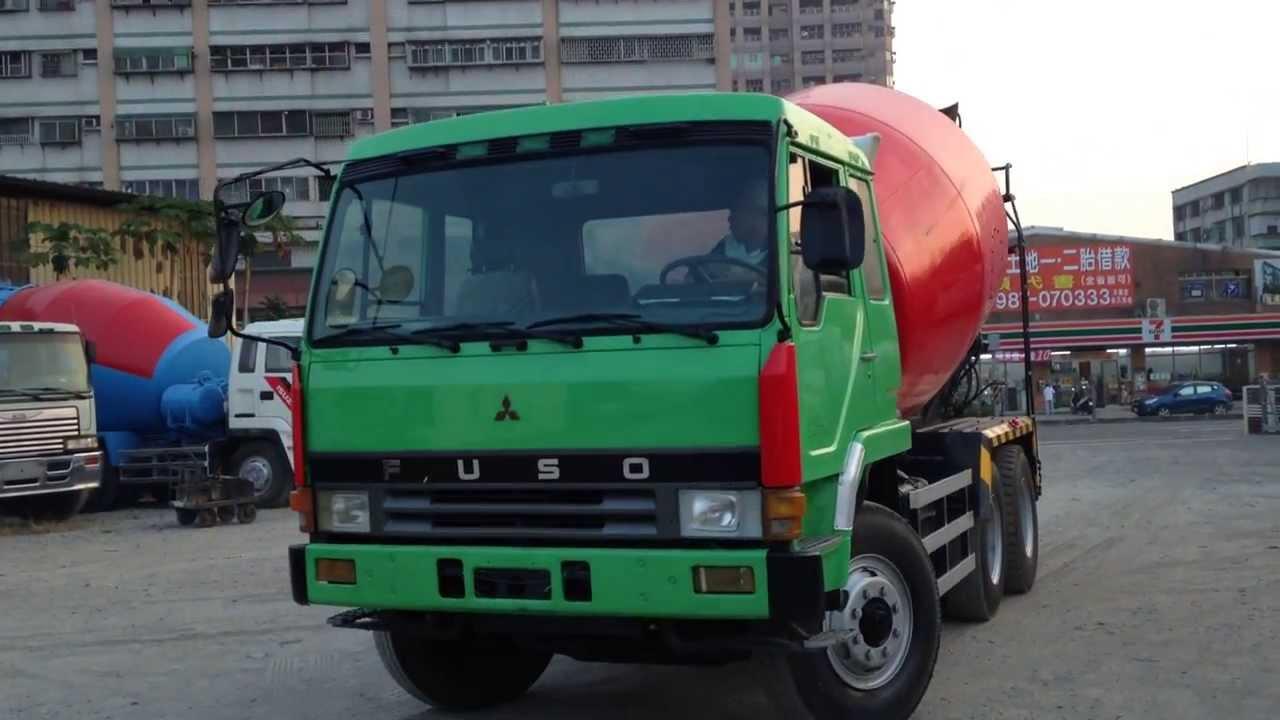 Ta Truck Stop >> YEN TA :[611-QU] USED FUSO MIXER TRUCK YEAR: 1987 ENGINE:8DC9 - YouTube