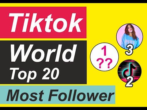 tiktok : World Most Popular Top 20 Tiktoker