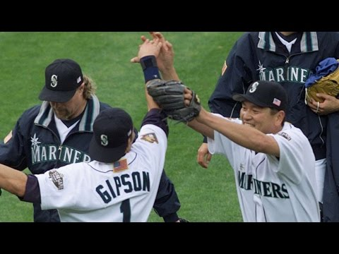 2001ALDS Gm5: Mariners take Game 5, move on to ALCS