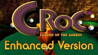 Croc! Legend of the Gobbos Enhanced Version - Gameplay (21:9)