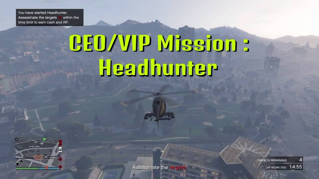 gta ceo vip mission headhunter gta 5 ceo vip mission headhunter