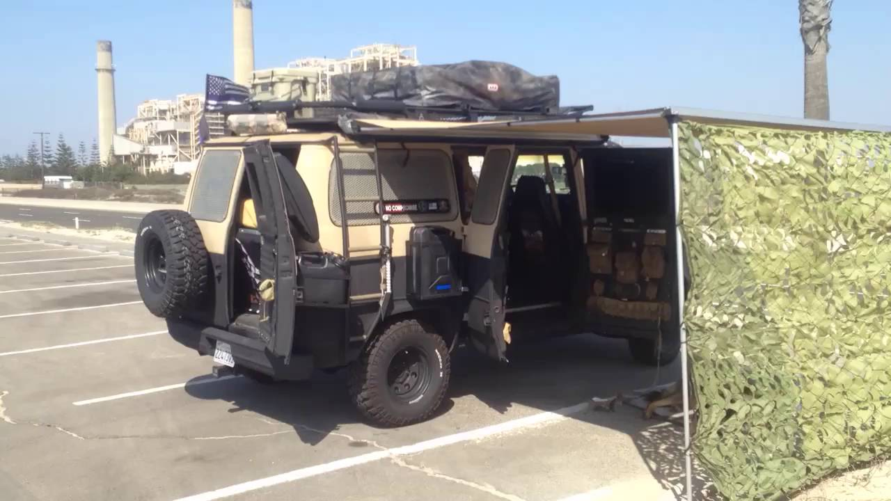 Urban Survivor Tactical Camper Van Youtube