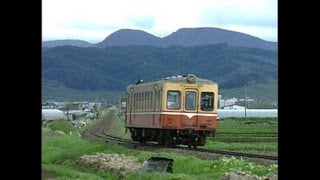 廃止1年前の弘南鉄道 黒石線 (1997年)