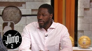 Ben Wallace talks HOF nomination, Kevin Durant's deleted tweets | The Jump | ESPN