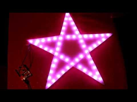 Rgb Led Christmas Star