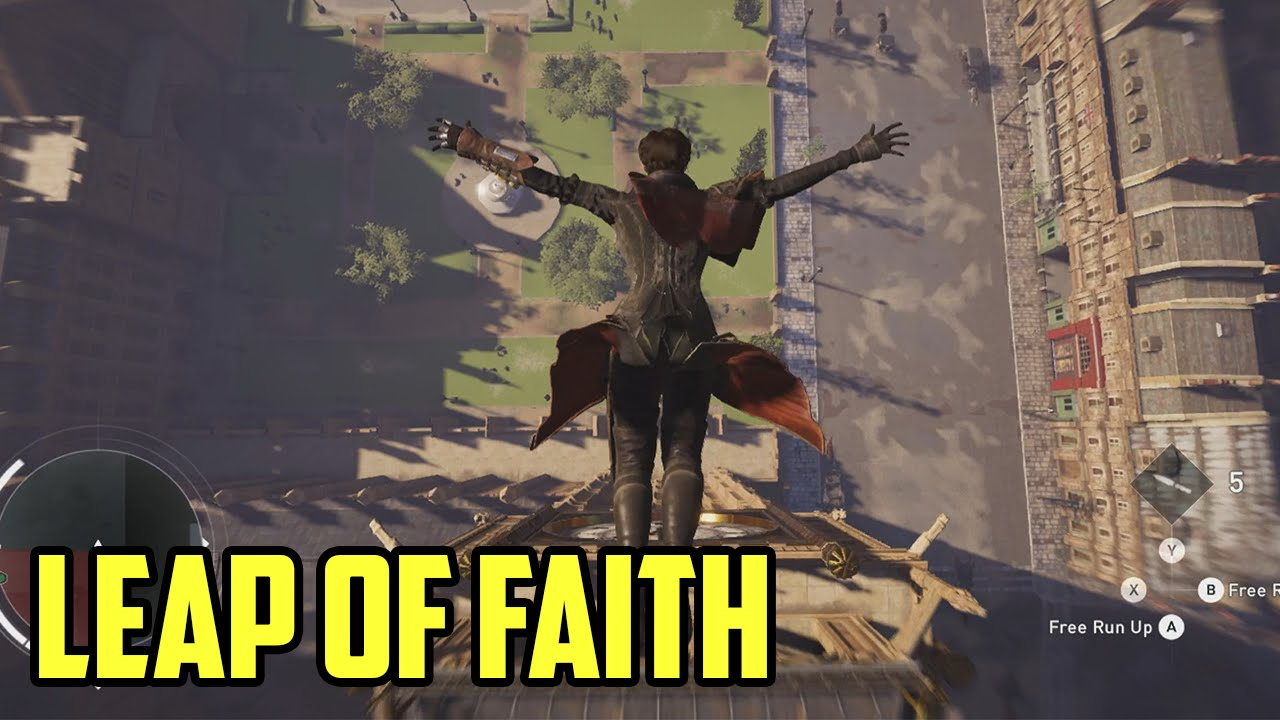 LEAP OF FAITH! Rippin Up The Street Of Ol' London Town! ****assins Creed Syndicate.