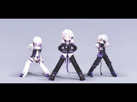 【Elsword MMD】 ❝ Law-evading Rock  ❞ :: • 脱法ロック • 【애드×3】