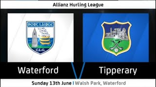 Waterford vs Tipperary   2021 Allianz League Hurling Round 4   Highlights