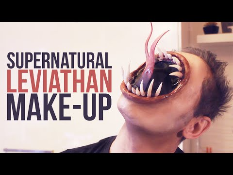 Supernatural Leviathan ~ Prosthetic Makeup